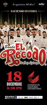 Banda el Recodo en Puebla